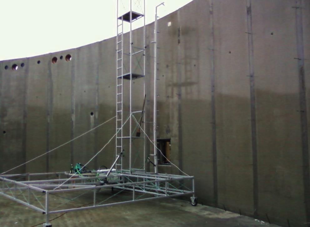 Waterproofing a tank